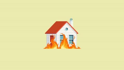 Qué hacer tras un incendio en casa