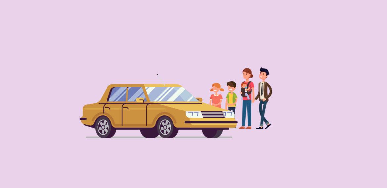 Seguro de coche para familias numerosas