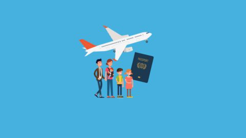 Seguro de viaje para familias numerosas